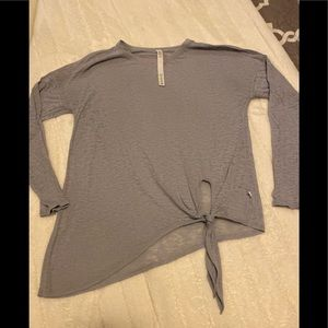 LULULEMON SHIRT top SZ 6 lavender grey